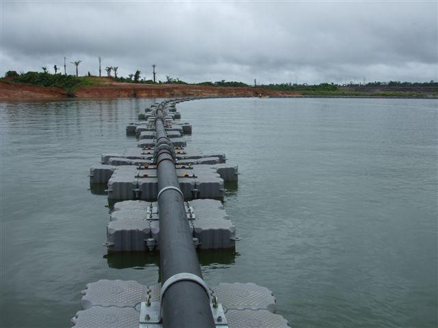 tuberias flotantes muelles flotantes industriales