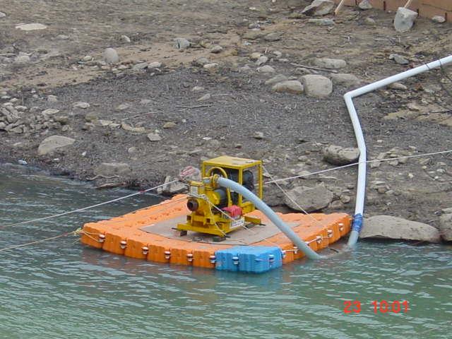 -Pumping Platform