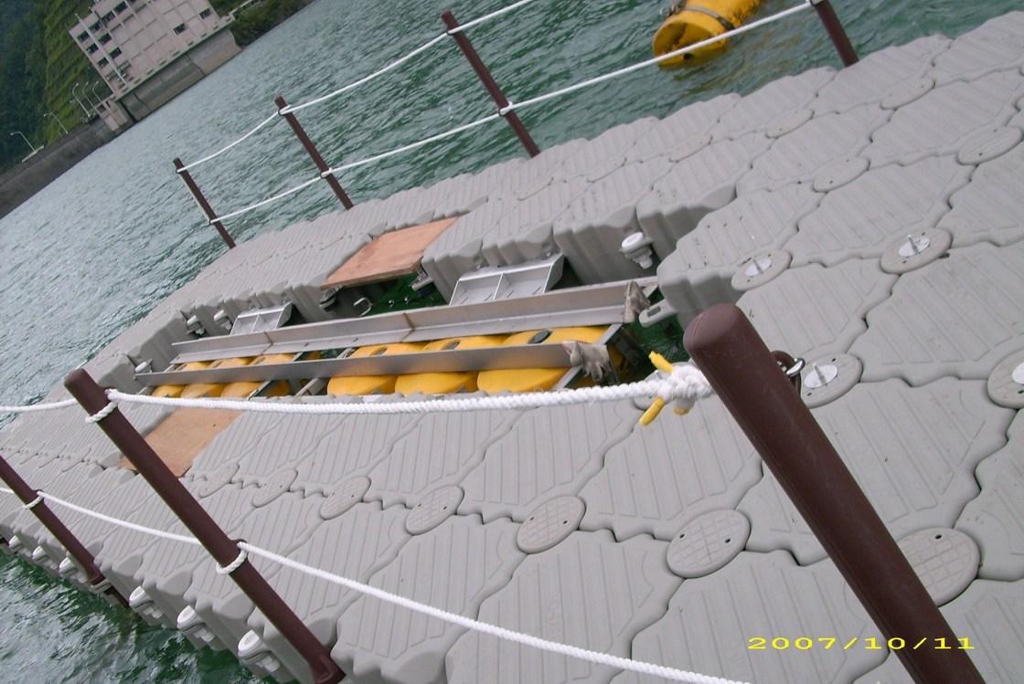 Muelle flotante Colombia royecto Cientifico
