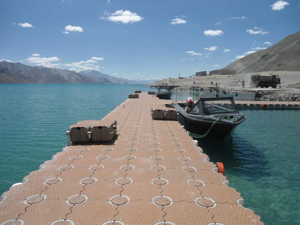 Muelles flotantes modulares muelle modulos de servicio